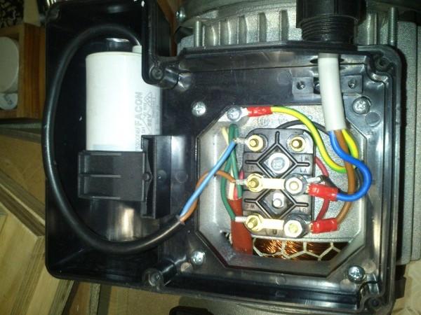 Schema Collegamento Motore Trifase A Due Velocita : Collegamento condensatore motore monofase montare