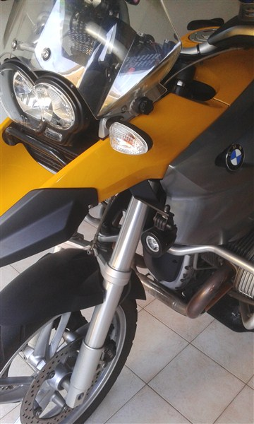 [R1200GS 2004-2007] Supporti fai-da-te per faretti - Quellidellelica Forum BMW moto il più ...